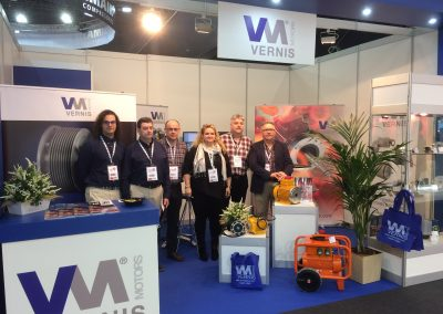 SUCCESSFUL PARTICIPATION OF VERNIS MOTORS, SL AT THE BIEMH FAIR OF BILBAO