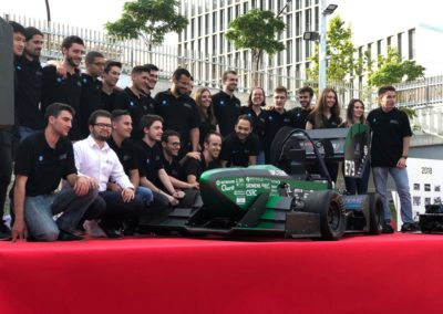 VERNIS MOTORS SUPPORTS THE FORMULA STUDENT TEAM OF UNIVERSITY UPC
